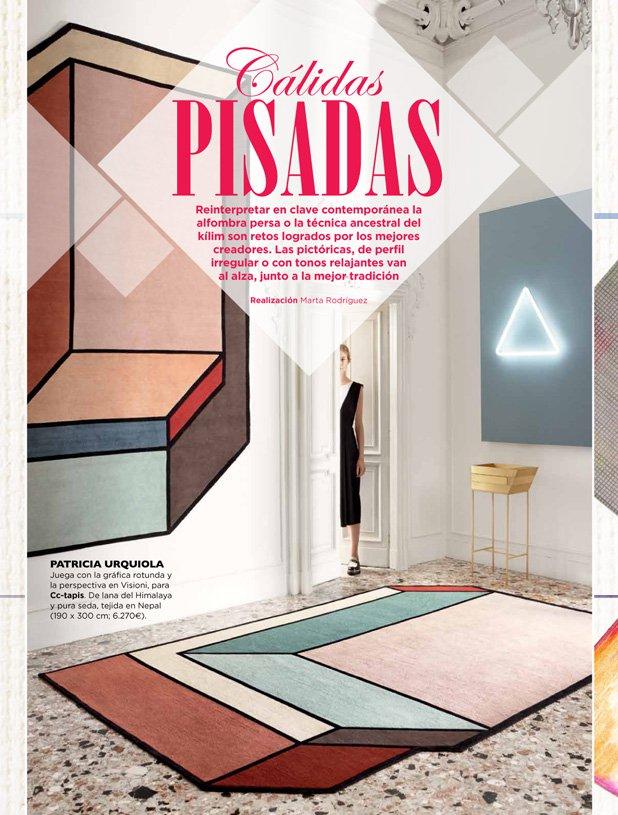 turkestan aparece en la revista interiores