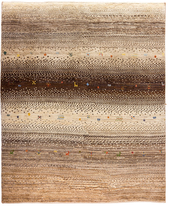 Earth Colors Gradient Gabbeh